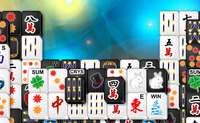 Black White Mahjong 2