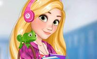 Elsa and Rapunzel: College Girls