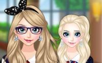 Elsa Goes to School Dress-Up