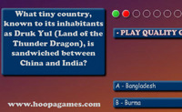 Geography Quiz - Asia
