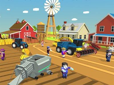 Zombie Harvester Rush