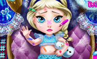 Baby Elsa Injured