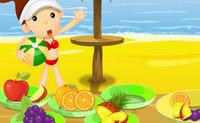 Beach Fruity Snack