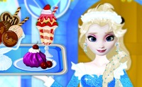 Elsa's Frozen Ice Cream Shop