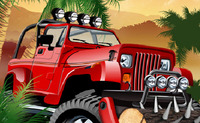Jungle War Driving