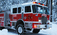 Winter Firefighters Truck 2